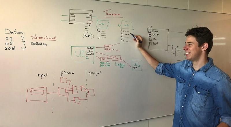 Cursus Dynamo Software Vak Aken, Joris Wiegman / 2018