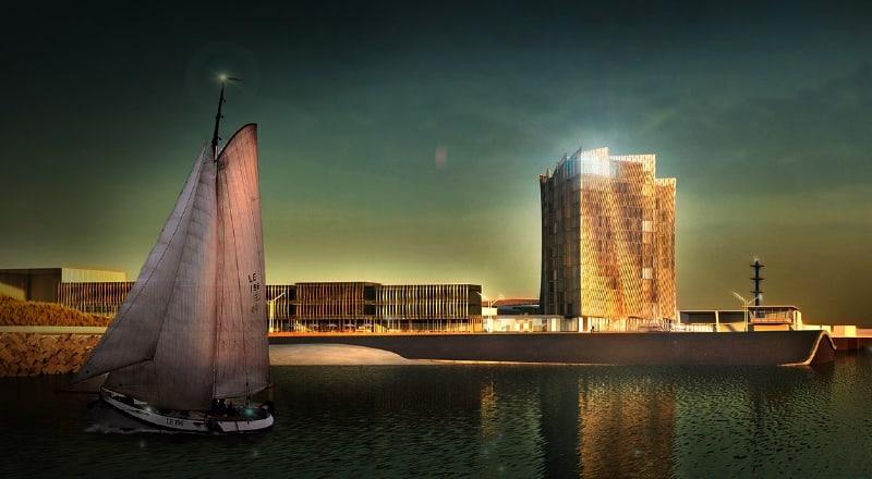 Inntel Hotels Marina Beach Scheveningen / Night view / 2018-2019
